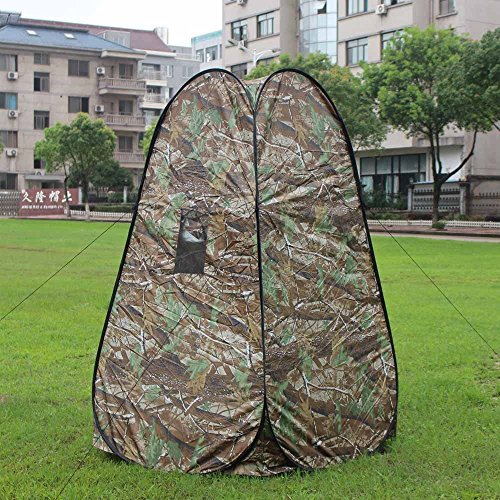Portable Outdoor Privacy Camping Toilet Tent Pop Up Tent Camouflage Outdoor Changing Dressing Shower