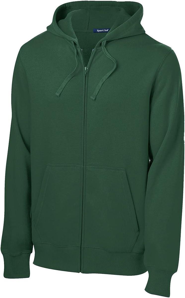 SPORT-TEK Men's Full Zip Hooded Sweatshirt