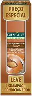 Kit Palmolive Naturals Hidratação Luminosa Promo 1 Shampoo 350ml + 1 Condicionador 350ml c/ Desconto