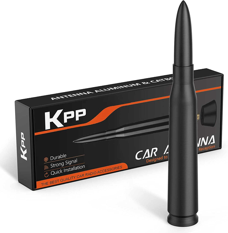 KPP SALENEW very popular! Bullet Antenna for Dodge Aluminum Some reservation RAM Replacemen Car