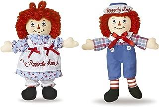 Aurora Raggedy Ann and Andy Doll Set