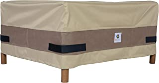 Duck Covers Elegant Rectangular Patio Ottoman or Side Table Cover, 52