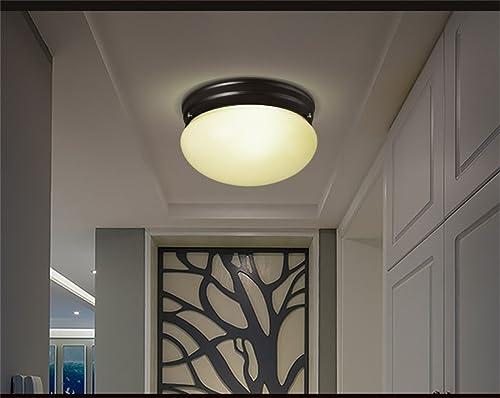Mode Eclairage de plafond-WXP Lampes de plafond modernes Hall Corridor Balcon Ensembles d'éclairage en verre rond Luminaires intérieur-WXP
