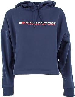 Tommy Hilfiger S10S100358 Felpa Donna Bianco M