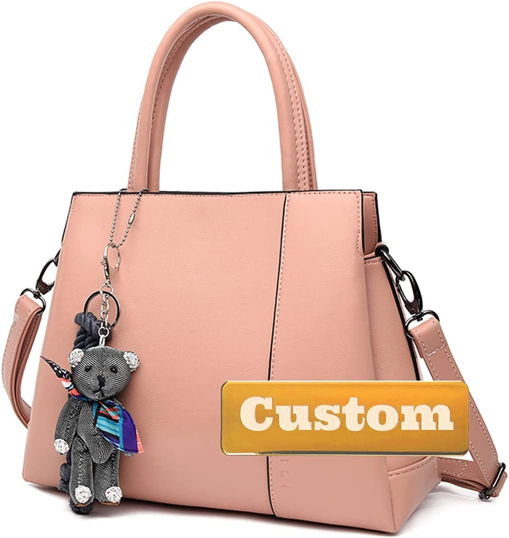 Custom Name Bag compatible with Al sold out. Crossbody Women Leather Shoulder National products