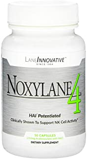 Lane Innovative - Noxylane4, Supports Immune Protection, Supports Peak NK Cell Activity and T and B Cell Defense (50 Capsules)
