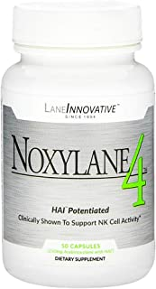 Lane Labs - noxylane4, Supports Immune Protection, Supports Peak Nk Cell Activity & t & B Cell Defense (50 Capsules)