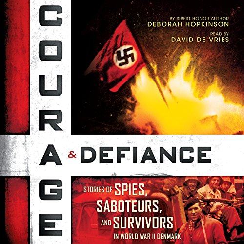 Courage & Defiance audiobook cover art