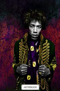 Gratitude Journal Notebook : Jimi Hendrix Thanksgiving Notebook Perfect for School, Diary, Journal Christmas , Thankfull ,...
