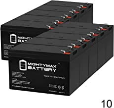 Mighty Max Battery 12V 7Ah SLA Replacement Battery for TrippLite INTERNET700I, INTERNET750U - 10 Pack Brand Product