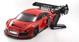 Kyosho 34102B Inferno GT2 Ve Audi R8 Race Spec, Red