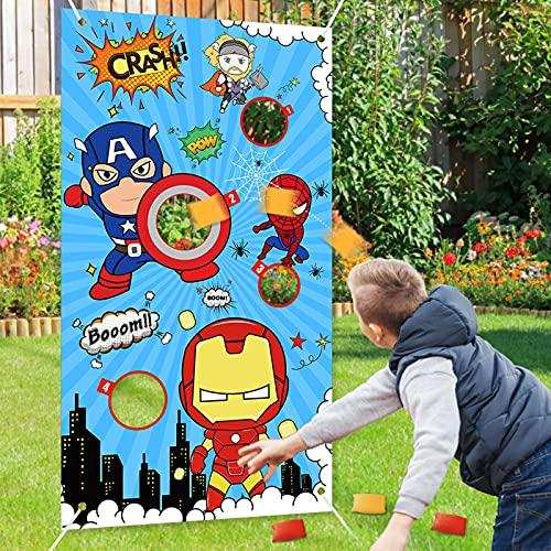 KFZ Toyze Superhero Bean Bag Toss G…