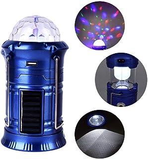 Funnyrunstore Port/átil Mini Tama/ño Llavero Luz exprimible Micro LED Linterna Antorcha Luz de Llavero de Emergencia Que acampa al Aire Libre Negro
