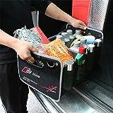 AUDI 車用収納ボックス 車トランク 収納ボックス オックス 折りたたみ 収納ケース アウディ専用 高い質感 D-027