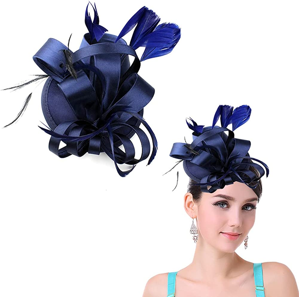 JIAHANG Vintage Fascinators Flower Hats C Headband Sale special price Pillbox SEAL limited product with