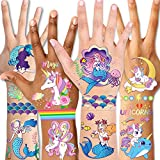 Temporary Tattoos for Kids(98pcs),Konsait...