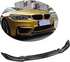 MCARCAR KIT Front Bumper Lip fits BMW F80 M3 F82 F83 M4 2014-2019 Add-on Factory Outlet Carbon Fiber CF Chin Spoiler Splitter Protector
