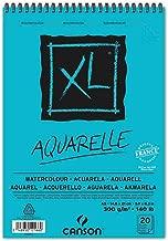 Bloco Espiralado Canson XL® Aquarelle 300g/m² A5 14,8 x 21 cm com 20 Folhas – 400082843