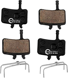 EASTERN POWER 2 Pairs Bicycle Disc Brake Pads for Sram Avid BB7 Juicy 3 5 7, Resin/Semi-Metallic/Sintered Metal