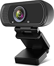 Streaming Webcam,HD Webcam with Microphone for Desktop Laptop,110°Wide Angle Live-Streaming Web Camera,Computer Camera for...