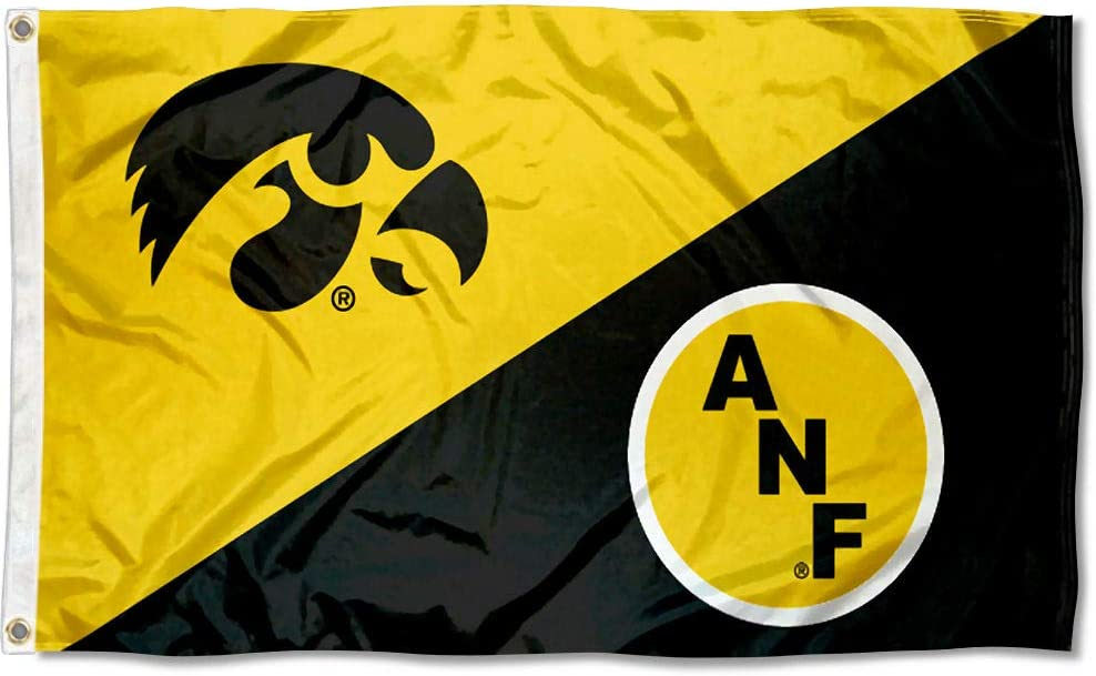 College Flags Banners 4 years warranty El Paso Mall Co. Iowa ANF America Needs Farmers Flag