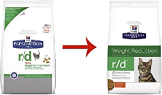 Hills Diet r/d Weight Loss-Low Calorie Cat Food 4lb Bag