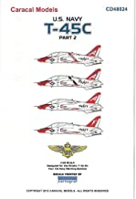 Caracal Models 1/48 Scale Decals US Navy T-45 Goshawk Pt 2 Kinetic CD48024