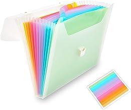 13 Pocket Expanding Document File Akkordeon Ordner Organizer   Schulbüro