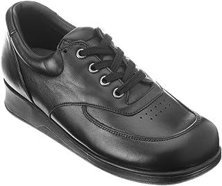 Drew Shoe Womens Geneva Black Leather//Nubuck 12