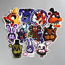 11 Pcs/lot Five Nights at Freddy Sticker for Car Laptop Bicycle Notebook Backpack Waterproof Stickers Toy Stickers