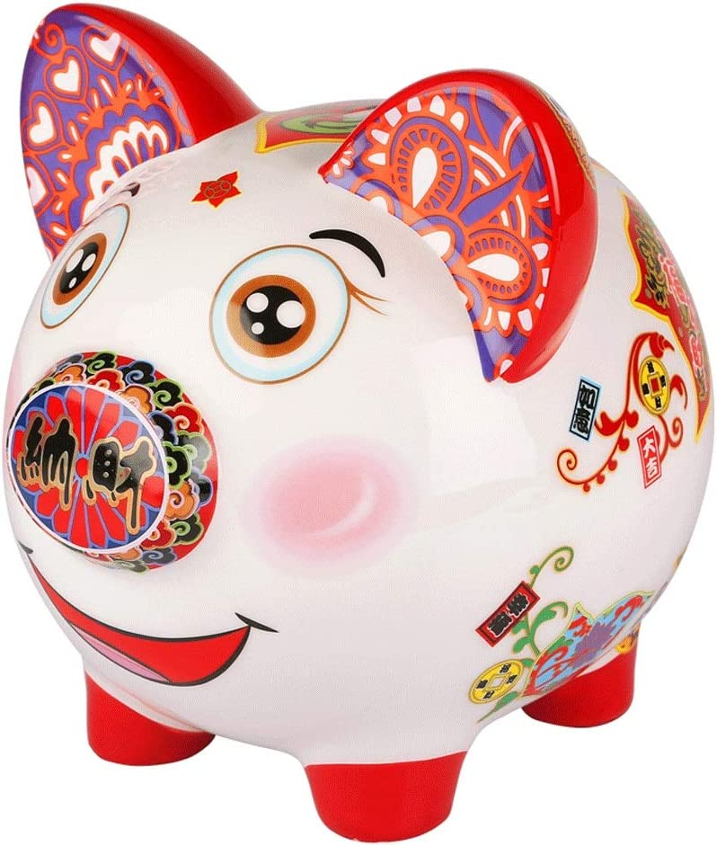 LJXLXY High material Piggy Many popular brands Bank Personaliz Lucky Chinese