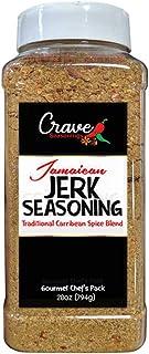Crave's Jerk Seasoning Jamaica/ Caribbean Flavor Xl Bottle - 28 Oz - Made In the USA