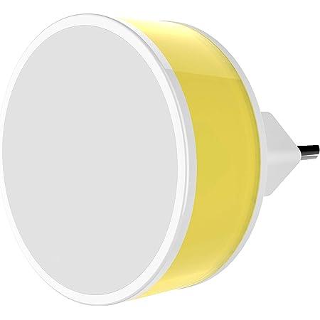 GM 3032 0.5-Watt Nano Led Night Lamp (Color May Very, Pack of 1) (Orange, Lemon and Blue)