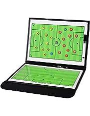 サッカーボード 作戦ボード 作戦盤 折りたたみ式 コーチングボード 戦略指導 専用ペンとマグネット付き 持ち運びに便利