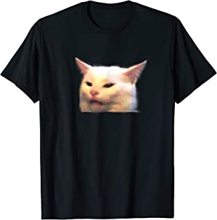 Woman yelling at table dinner cat meme dank meme T-Shirt