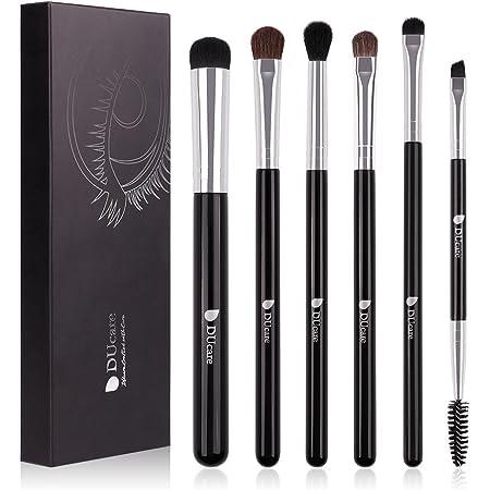 DUCARE Makeup Eyeshadow Eyebrow Blending Cosmetics Brushes Set Of 6 Pieces