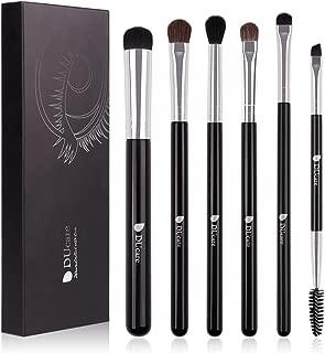DUcare Makeup Brushes 6Pcs Eyeshadow Brush Set Cosmetics Eyeliner Eyebrow Shader Blending Brushes