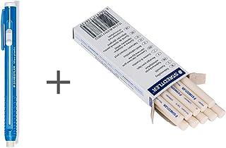 Staedtler Stick Eraser Holder and Eraser Refills(Pack of 10) set