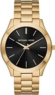 michael kors all black diamond watch
