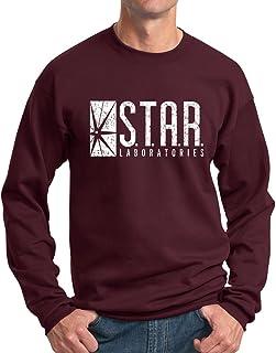 New York Fashion Police Star Labs Sweatshirt - Star Laboratories Crewneck - Vintage Print
