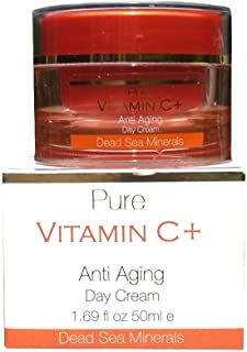 Dead Sea Minerals Pure Vitamin C+ Anti Aging Day Cream 1.69 oz