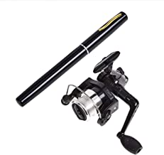 Pen Fishing Pole 38 Inch Mini Pocket Fishing Rod and Reel...