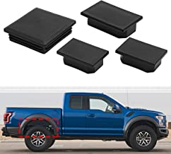 4x Auto Rear Wheel Well Frame Tube Hole Plug For Ford F-150 Raptor Body Rear Frame Left & Right Side Fits 2017 & later Models