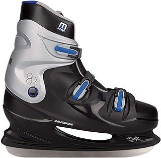 Nijdam Hockey schaatsen heren (EU 43  zwart grijs blauw)