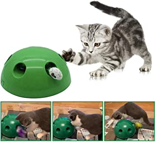 JUSHOOR Interactive Motion Pet Toy Mouse Tease Electronic Funny Training Cats and Dogs Toys
