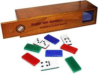 Bene Casa Dominoes Double Nine Professional Set. 55 Tiles Color as per Availability