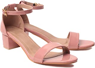 KLAUR MELBOURNE Women Block Heel 2 Inch Sandal