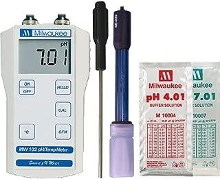 Milwaukee MW102 Digital pH / Temperature meter w/ ATC