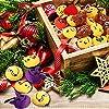 Mini Portachiavi Emoji, 35 Pezzi Pop di Emoticon Portachiavi Decorazioni - Ideale per Zaino Borsa Regalo, Faccine Portachiavi Emoticon - Perfetto Regalo per il giorno dei bambini, Natale, compleanni #5