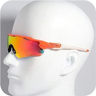 Colorful sea Polarized Cycling Sunglasses 5 Lens Bike Glasses